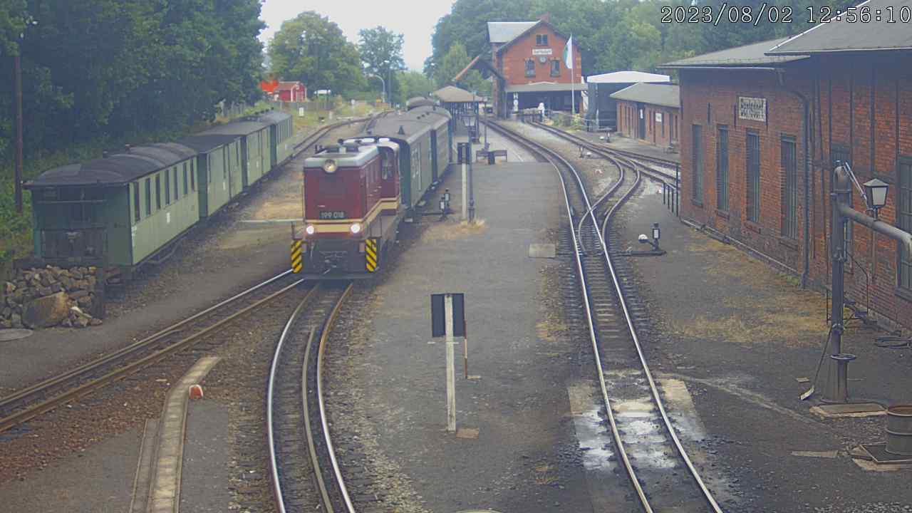 Zittau, Bahnhof Bertsdorf / Deutschland