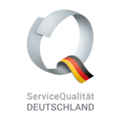 Logo Service Qualität Deutschland